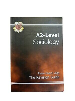 £0.99 • Buy A2-Level Sociology AQA Revision Guide By CGP Books Paperback Book The Cheap Fast