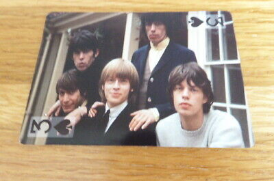 £2.50 • Buy The Rolling Stones  Rock Stars Single Playing Card Mint