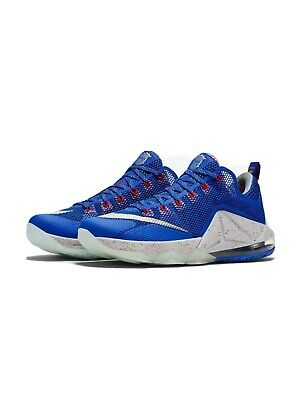 $25 • Buy Nike Lebron 12 XII Low Rise Blue Cobalt Size 12 Sneakers Basketball Shoes James