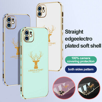 AU3.29 • Buy For IPhone 13 12 Mini 11 Pro Max XS XR 8 7 6 Plus Case Plating Shockproof Cover