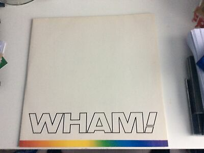 £10.99 • Buy Wham , The Final ,double  L. P.  Complete With Insert, George Michael.