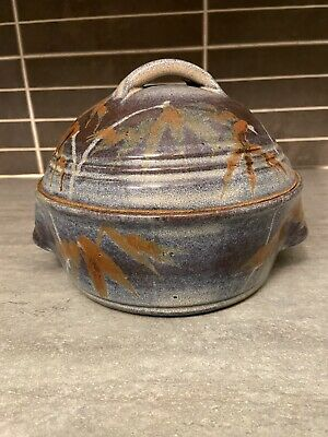 £15 • Buy Vintage Unusual Studio Pottery Oven Dish, Signed