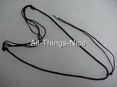 Silk Pendant Tie 18-24  Adjustable SLIDE Necklace Jewellery String Cord 20 • 6£