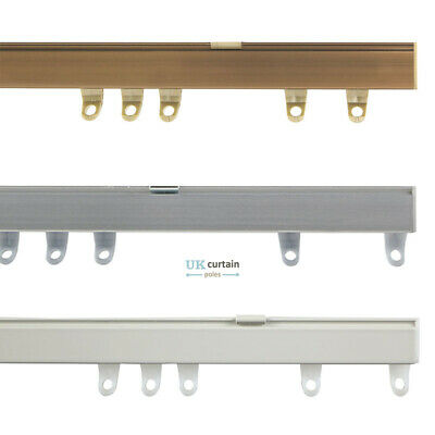 £66.50 • Buy Fineline Metal Curtain Track Rail Bends In Bay Windows Aluminium Bendable By Han