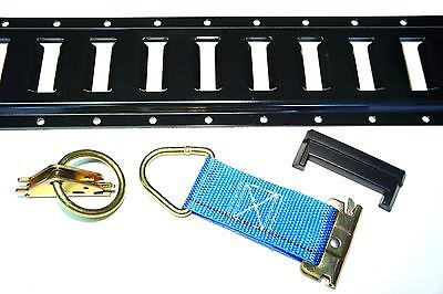 $152.95 • Buy 32pc E Track Kit F Enclosed Trailer Tie Down Toy Hauler Cargo Van ATV QUAD UTV
