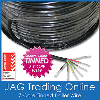 AU5.47 • Buy 7-core Marine Grade Tinned Wire - Boat/automotive/caravan Electrical Cable