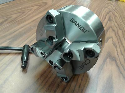 AU180.03 • Buy 6  4-JAW SELF-CENTERING  LATHE CHUCK W. Top&bottom Jaws--0.003  TIR---new