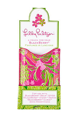 £3.64 • Buy LILLY PULITZER Luscious POUCH Cell Phone Case IPod Touch Blackberry Curve NWT