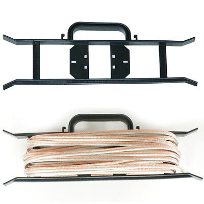 Cable Wire Tidy Reel- H Frame - Extension Power Lead Carrier/holder -pa Dj Stage • 7.99£