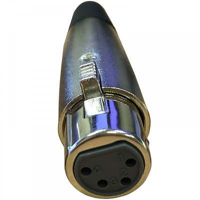 £0.99 • Buy UKDJ 4 Pin XLR Female Socket With Solder Terminals & Cable Protector
