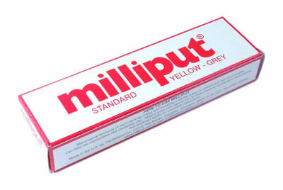 Milliput Standard Yellow Grey Adhesive 2 Two Part Epoxy Putty Model Filler Mould • 3.99£