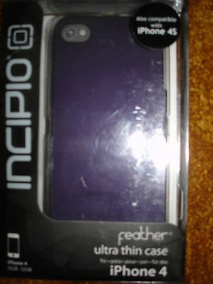 £13.12 • Buy Incipio Feather Ultra Thin Case For Iphone 4& 4gs Purple
