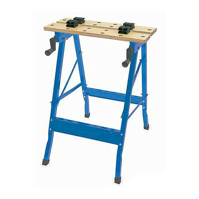 Portable Workbench - Max 100kg - Includes 2 560mm X 110mm Worktops - Foldable • 32.49£