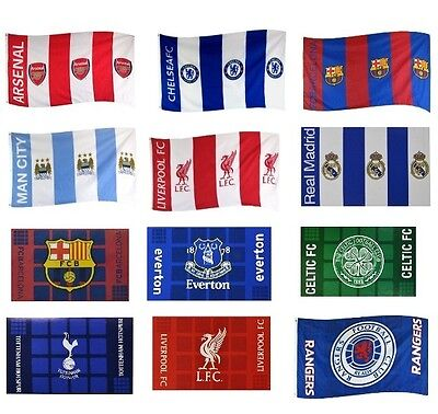 £8.48 • Buy OFFICIAL FOOTBALL CLUB - Flags {Plaza/Checked/Crested Stripes/St.George}