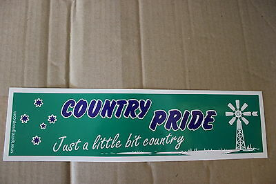 AU6 • Buy Country Pride Ute Large Green Southern Cross Windmill Bns B&S Bar Sticker