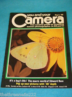 You And Your Camera #75 - Macro World Of Edward Ross • 4.99£