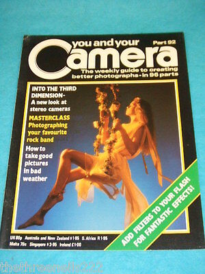 You And Your Camera #92 - Stereo Cameras • 4.99£