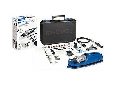 Dremel 4000-65 Rotary Multi Tool With Flex Shaft & Acc + Free 4486 Chuck • 119.99£