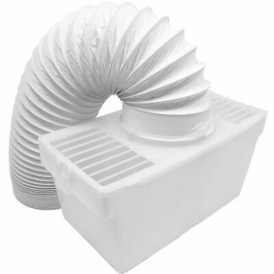 £11.09 • Buy CANDY Tumble Dryer Vented Condenser Wall Box Kit - Vent Hose Pipe + Wall Mount