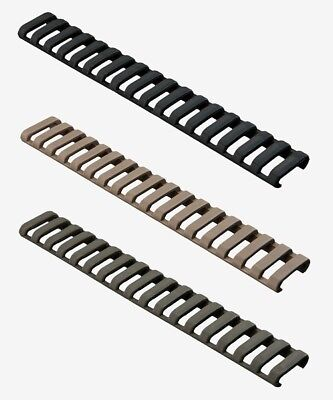 $24 • Buy Magpul Ladder Rail Cover -  Choice Of Black, Flat Dark Earth Or OD - 2 PACK