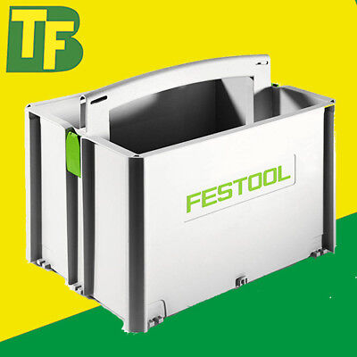 Festool Deep Systainer Toolbox / Tote Box 499550 SYS-TB-2 • 46.50£
