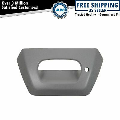 $27.20 • Buy Tailgate Tail Gate Bezel Gray Textured Lock Provision For 02-06 Chevy Avalanche