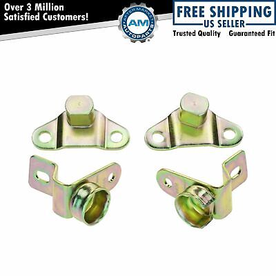 $21.53 • Buy Tailgate Tail Gate Hinges Set Of 4 Kit For Chevy Silverado & Hybrid Hummer H2