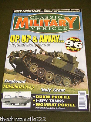 Classic Military Vehicle - Wombat Portee - April 2007 • 6.99£
