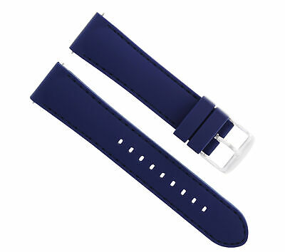 $ CDN18.70 • Buy 20mm Rubber Diver Watch Band Strap For Seiko 200m Skx007k 7s26, Skx009j Blue