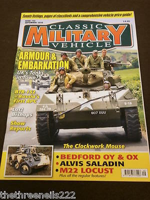 Classic Military Vehicle - Alvis Saladin - Sept 2010 • 6.99£