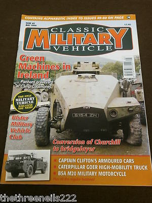 Classic Military Vehicle - Bsa M20 Military Motorcycle - May 2006 • 6.99£