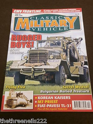 Classic Military Vehicle - Flying Flea - April 2008 • 6.99£