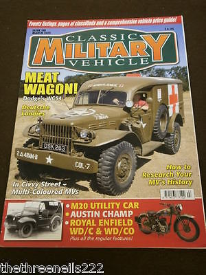 Classic Military Vehicle - M20 Utility Car - March 2011 • 6.99£