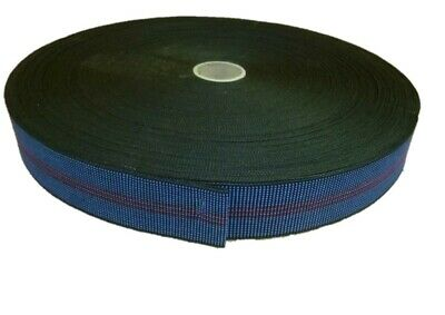 £8.49 • Buy BLUE - ELASTIC 2  UPHOLSTERY WEBBING For Chairs, Seats & Furniture