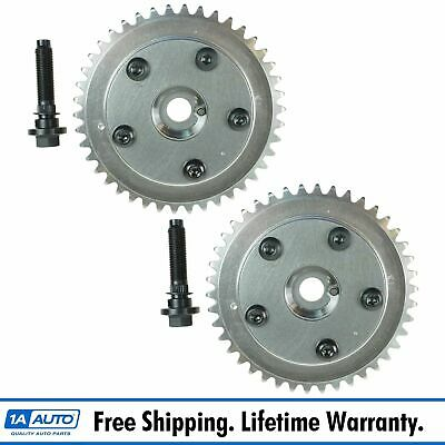 $259.95 • Buy Camshaft Phaser Variable Valve Timing Sprocket Gear Cam Shaft Pair Set For Ford