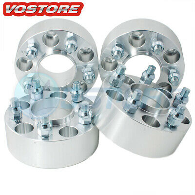 $80.50 • Buy (4) 2'' 5 Lug Hubcentric Wheel Spacers Adapters 5x4.5 For Jeep Grand Cherokee ZJ