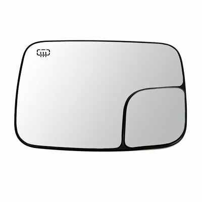 $67.99 • Buy Dorman Power Heated Towing Mirror Glass Driver Side Left For Ram 1500 2500 3500
