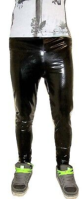 £12 • Buy Mens Ultra Shiny Cal Surf Glossy Horror Wet Look Meggings Xs - 6xl