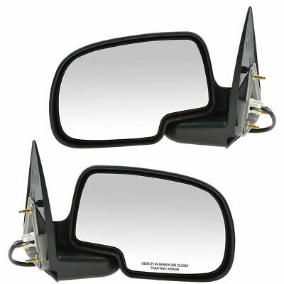 $70.48 • Buy Power Side View Mirrors Left & Right Pair Set For 99-02 Silverado Sierra Truck
