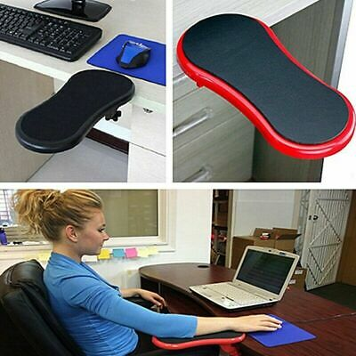 Red Ergonomic Healthy Computer Mini Armrest Wrist Rest Pad Chair Desk Support • 9.99£