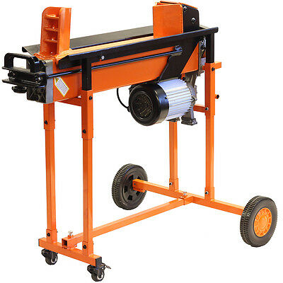 Fast Heavy Duty Electric Log Splitter 8 Ton Hydraulic Wood Timber Cutter Stand • 573.90£