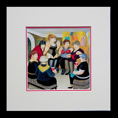 Beryl Cook Party Girls. Framed Print • 29.95£