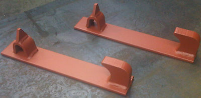 AU88.40 • Buy TRIMA LOADER WELD ON TRACTOR BRACKETS (McCONNELL)