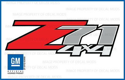 AU32.15 • Buy Set Of 2 -Z71 4x4 Decal Stickers - LF - [ OEM Factory Grade ] 25798300 Truck Bed