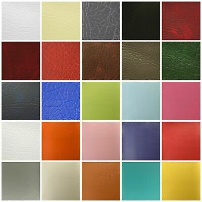 Leatherette Vinyl Upholstery Fabric Fire Retardant Faux Leather 140cm Wide • 1.16£