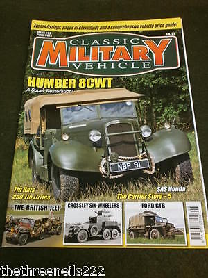 Classic Military Vehicle - Humber 8cwt - June 2013 • 6.99£
