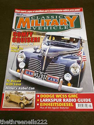 Classic Military Vehicle - Plymouth P9 - Jan 2010 • 6.99£