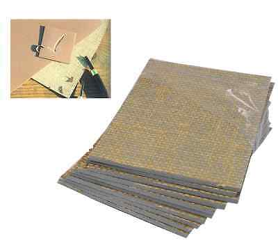 £7.45 • Buy 4 X LINO BLOCK PRINTING BOARD HESSIAN BACKED TILE 150mm X 100mm 3.2mm THICK