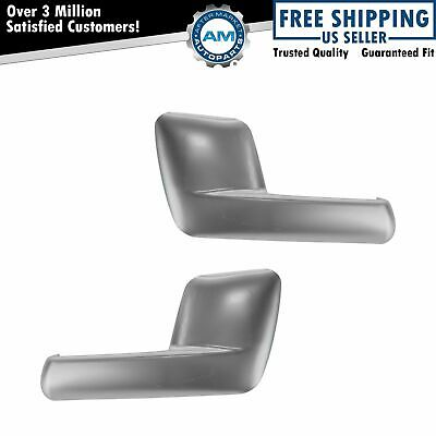 $44.95 • Buy Door Handle Inside Interior Satin Chrome Pair Set For Expedition Navigator