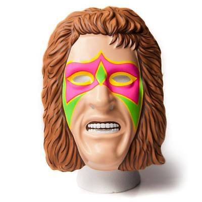 £11.75 • Buy The Ultimate Warrior Wwe Wwf Child Adult Head New Fancy Dress Up Mask Costume